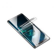 3D full cover Hydrogel screen protector Samsung Galaxy A10 / Извит гъвкав скрийн протектор Samsung Galaxy A10 - прозрачен