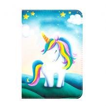 Универсален кожен калъф със стойка за таблет 7'' / 8'' - Unicorn