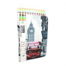Универсален кожен калъф със стойка за таблет 9'' / 10'' - London