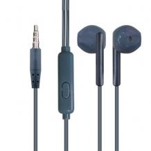 Стерео слушалки Yookie YK1070 / handsfree / 3.5mm за смартфон - сини