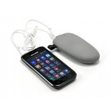 Външна батерия / Power Bank Stone 5200 mAh за Samsung, Apple, Lenovo, Alcatel, LG, HTC, Sony, Nokia, Alcatel, Huawei и др - сив / камък