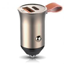 Универсално зарядно за кола 12V NORDIC Supersonic USB-A, USB-C, PD3, QC4, + Type-C