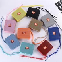 Bluetooth mini тонколона T&G 166 / T&G 166 Bluetooth mini Speaker - кафява