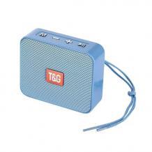 Bluetooth mini тонколона T&G 166 / T&G 166 Bluetooth mini Speaker - светло синя