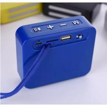 Bluetooth mini тонколона T&G 166 / T&G 166 Bluetooth mini Speaker - синя