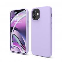 """Луксозен силиконов калъф / гръб / TPU Soft Jelly Case за Apple iPhone 12 Pro Max 6.7"""" - Лилав"""