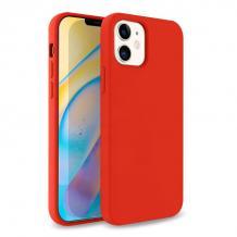 """Луксозен силиконов калъф / гръб / TPU Soft Jelly Case за Apple iPhone 12 Pro Max 6.7"""" - Червен"""