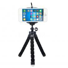 Универсална стойка Spider Tripod Mini за смартфон и фотоапарат - черна