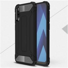 Силиконов гръб TPU Spigen Hybrid с твърда част за Samsung Galaxy A30s - черен