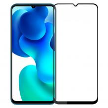 5D full cover Tempered glass Full Glue screen protector Xiaomi Mi Note 10 Lite / Извит стъклен скрийн протектор с лепило от вътрешната страна за Xiaomi Mi Note 10 Lite - черен