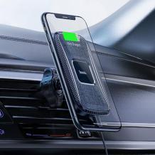 Магнитна стойка за кола с безжично зареждане Hoco CA75 Magnetic Wireless Fast Charging - черна