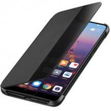 Луксозен калъф Smart View Cover за Huawei P30 - черен