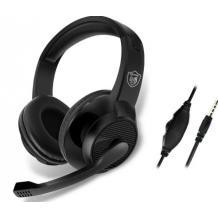 Геймърски слушалки GM-001 / Gaming Headset 360° Vibration Sound GM-001 - черни