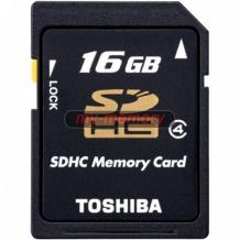 Карта памет SDHD Card TOSHIBA High Speed Standard 16GB Class 4