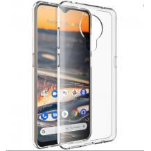 Силиконов калъф / гръб / TPU за Nokia 3.4 - прозрачен