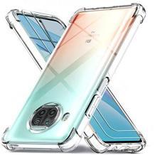 Удароустойчив силиконов калъф / гръб / TPU за Xiaomi Mi 10T Lite - прозрачен