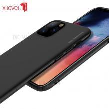 """Оригинален твърд гръб X-level Knight Series за Apple iPhone 11 Pro Max 6.5"""" - черен"""