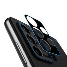 Удароустойчив протектор за камера / FLEXIBLE Nano Glass Camera Lens / на Samsung Galaxy A72 / A72 5G - черен