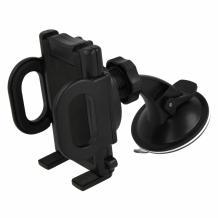 Универсална стойка за кола с късо рамо за Samsung, LG, HTC, Sony, Nokia, Huawei, ZTE, Apple, BlackBerry и други - въртяща се на 360 градуса