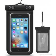 Универсален водоустойчив калъф Waterproof за мобилен телефон - черен