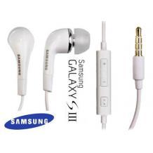 Оригинални 3,5 мм стерео слушалки / handsfree / за SAMSUNG - бели