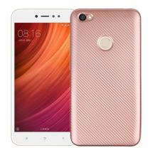 Силиконов калъф / гръб / TPU за Xiaomi RedMi Note 5A Prime - Rose Gold / Carbon