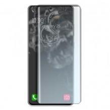 UV Full Cover Tempered Glass Full Glue Screen Protector Xiaomi Mi 10 / 10 Pro / Извит UV стъклен скрийн протектор с лепило от вътрешната страна за Xiaomi Mi 10 / 10 Pro
