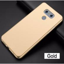 Луксозен твърд гръб за LG G6 - златист