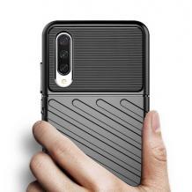 Луксозен силиконов калъф / гръб / TPU Bozzy Rugged за Xiaomi Redmi Mi A3 - черен