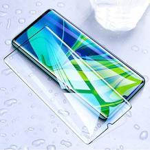 Удароустойчив протектор Full Cover / Nano Flexible Screen Protector с лепило по цялата повърхност за дисплей на Huawei Y5p – черен