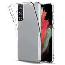 Силиконов калъф / гръб / TPU за Samsung Galaxy S21 Plus - прозрачен