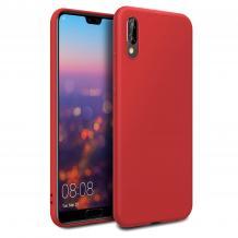 Луксозен силиконов калъф / гръб / Nano TPU за Xiaomi Redmi 7A - червен