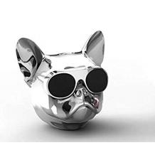 Bluetooth тонколона Dog Head / Dog Head Bluetooth Wireless Stereo Speaker - сребриста