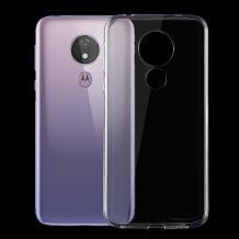 Ултра тънък силиконов калъф / гръб / TPU Ultra Thin за Motorola Moto G7 Power - прозрачен