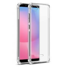 Удароустойчив ултра тънък силиконов калъф / гръб / TPU за Xiaomi Redmi 6A - прозрачен