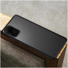 Оригинален силиконов калъф / гръб / TPU X-LEVEL Guardian Series за Samsung Galaxy A12 - черен / мат