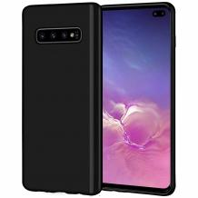 Силиконов калъф / гръб / TPU NORDIC Jelly Case за Samsung Galaxy S10 - черен