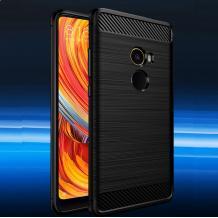 Силиконов калъф / гръб / TPU за Xiaomi Mi Mix 2 - черен / carbon