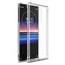 Удароустойчив силиконов калъф за Sony Xperia 1 - прозрачен