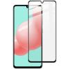 5D full cover Tempered glass Full Glue screen protector Samsung Galaxy A41 A415 / Извит стъклен скрийн протектор с лепило от вътрешната страна за Samsung Galaxy A41 A415 - черен