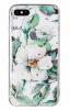 Луксозен силиконов калъф / гръб / TPU за Apple iPhone 7 Plus / iPhone 8 Plus - Магнолия / блестящи частици
