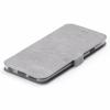 Кожен калъф Flip тефтер със стойка за Xiaomi RedMi Note 4 / RedMi Note 4X - сив / Flexi