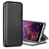 Луксозен кожен калъф Flip тефтер със стойка OPEN за Sony Xperia 10 II - черен