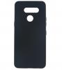 Силиконов калъф / гръб / TPU за LG K50S - черен / мат
