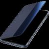 Луксозен калъф Smart View Cover за Huawei P30 - тъмно син